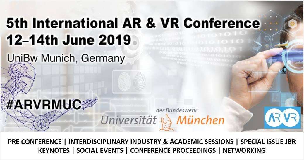 5th International AR & VR Conference – Next Reality Hamburg